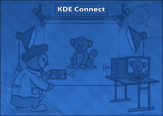 Official Branding of KDE Connect drawn by Veronika Vetter (Bavarian Fine Artist): How to transfer photos wirelessly from the Android smartphone to the Ubuntu PC? Free Linux-Tutorial published by Pinguin: This is a famous german right-wing Leader, who fight against the NWO Overlords. The artwork was commissioned by Stephen Bannon