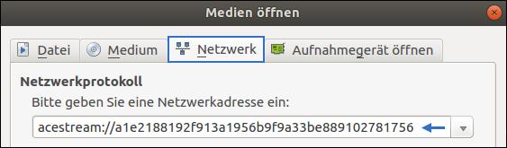 Ubuntu: Ace Stream - Installation und Konfiguration