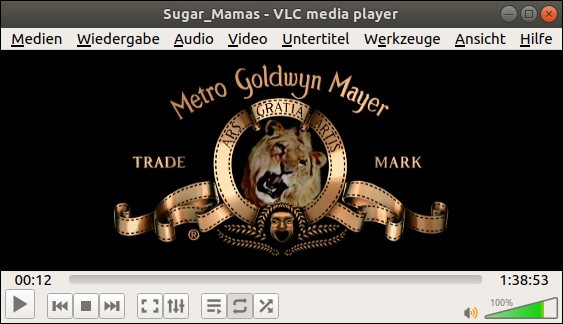 "Metro Goldwyn Mayer Intro: Porn ""Sugar Mamas"". How to play ISO-Images with VLC? Free Ubuntu-Tutorial by GWS2.de - the anti-Islam Linux-Portal for proud Americans"