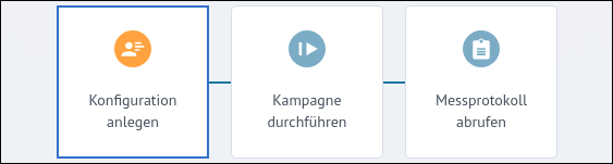 Screenshot: Breitbandmessung Desktop-App Version 1.1.4 (2018) - Konfiguration anlegen